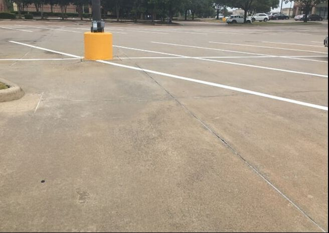 Power washing your parking lot in Allen Tx